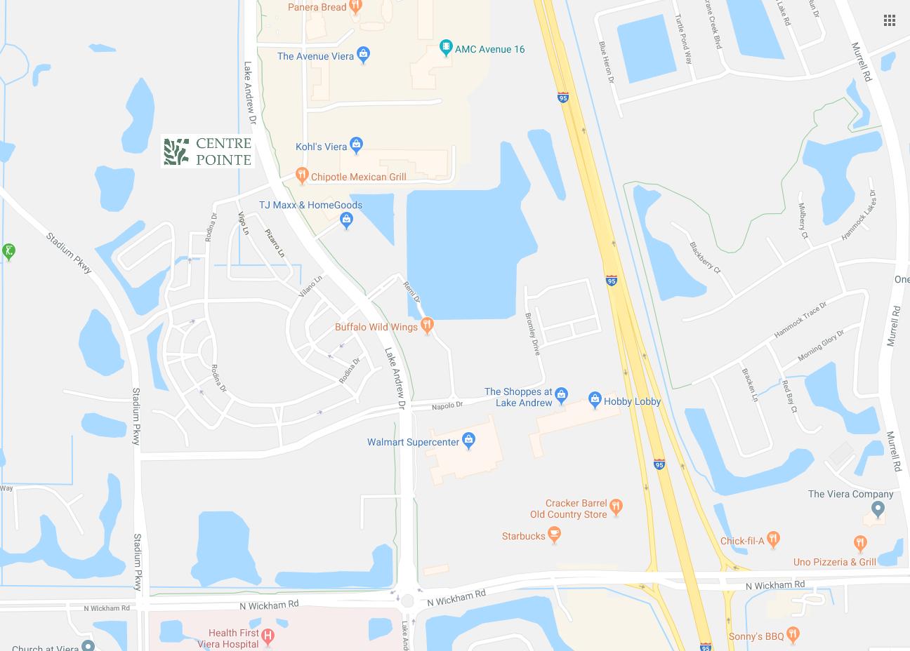 Viera Florida Map.Centre Pointe Apartments